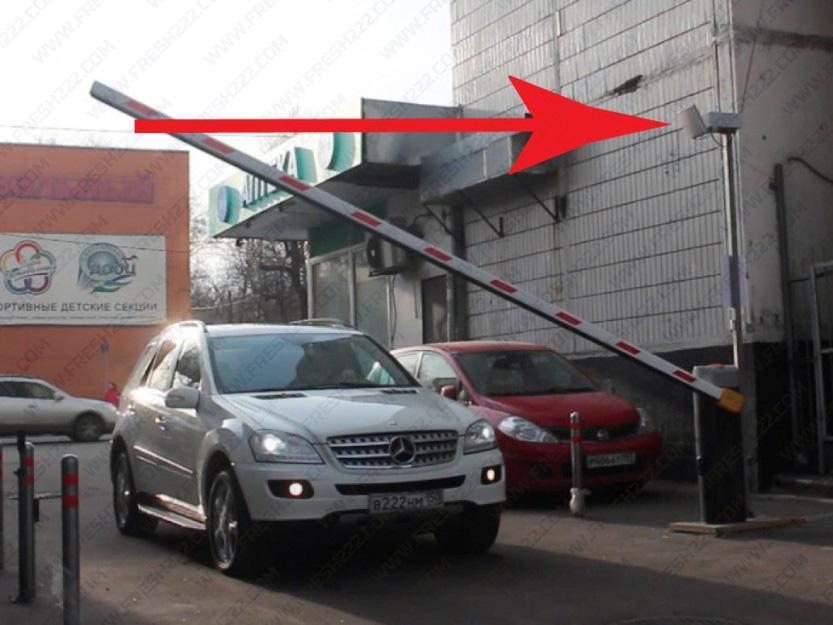 Ворота для парковки RFID UHF УВЧ